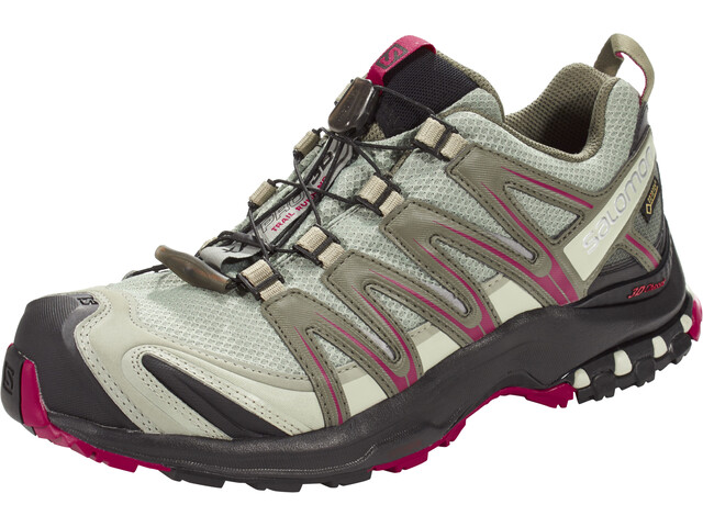 Salomon XA Pro 3D GTX Buty do biegania Kobiety, shadow/black/sangria